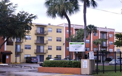 Whispering Palms in Lauderdale Lakes was sold for $13.7 million.