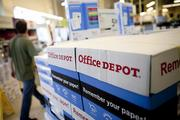 OfficeMax and Office Depot plan to merge, the companies announced  on  Wednesday.
