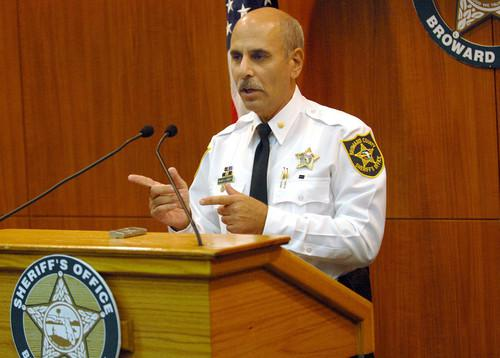 Broward County Sheriff Al Lambert.