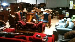 Rothstein's home furnishings are up for auction Saturday.