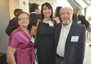 Honoree Sabrina Ferris of Greenberg Traurig was accompanied by parents Linda and Pat Gallo.