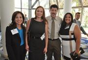Diana Sabacinski of Robert Half Management Resources, Kelly Kendrick and Michael Mut of Vivant Skin Care with Sandra Diaz of Robert Half Management Resources.