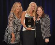 Helander, honoree Jolie Glassman owner of South Florida Boxing and Dickinson.