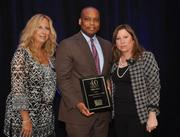 Helander, honoree Gregory Adam Haile from Broward College and Dickinson.