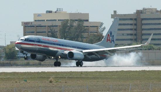 American Airlines' second-busiest hub is at Miami International Airport.