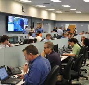 FPL shows off Category 5 hurricane Command Center - South Florida