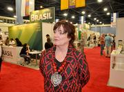 Charlotte Gallogly, president of the World Trade Center Miami, which organized the show.