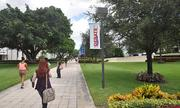 Lynn University has a well-manicured campus in Boca Raton.