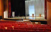 The Keith C. and Elaine Johnson Wold Performing Arts Center is the debate site.