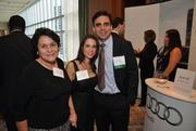 Maria Artime, Martha Prendes and honoree Jose Prendes of PureFormulas.