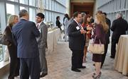 Networking at the Miami Ultimate CEO Awards.