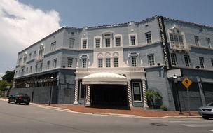 The Coconut Grove Playhouse has been closed since 2006 and is now in foreclosure.