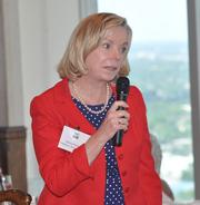 Attendee Patricia Palmer of Littlebanc Advisors, cited as an expert by Bruce Rector, helped answer audience questions.