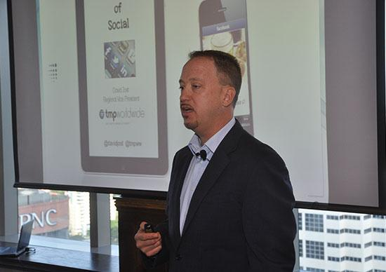 David Jost, regional VP for TMP Worldwide, gives insight into the mobilization of social media.
