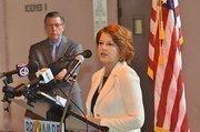 Rodstrom and Broward County Commissioner Ilene Lieberman.