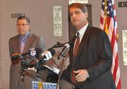 "Rodstrom and City of Fort Lauderdale Mayor John P. ""Jack"" Seiler."