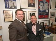 Scott Rothstein and GOP political consultant Roger Stone, who worked for a consulting firm associated with Rothstein Rosenfeldt Adler.