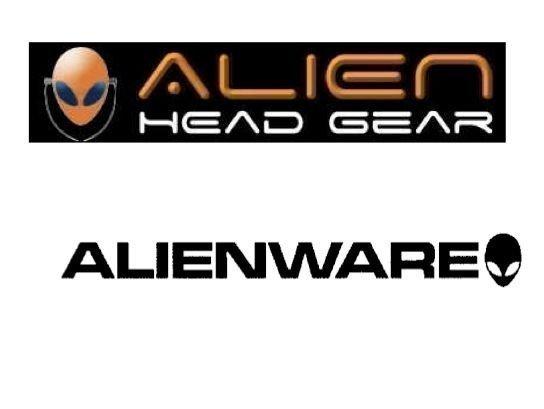 Logos for Alien Head Gear and Alienware