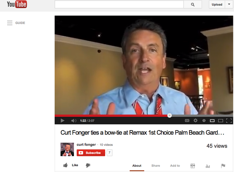 Former TV anchorman Curt Fonger has found a new career in real estate