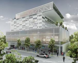 Asi Cymbal's new office project in Miami's Design District is being designed by Enrique Norten.