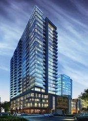 Laurel St. apartments rendering that Stiles is developing in Nashville in partnership with Nashville-based Ray Hensler