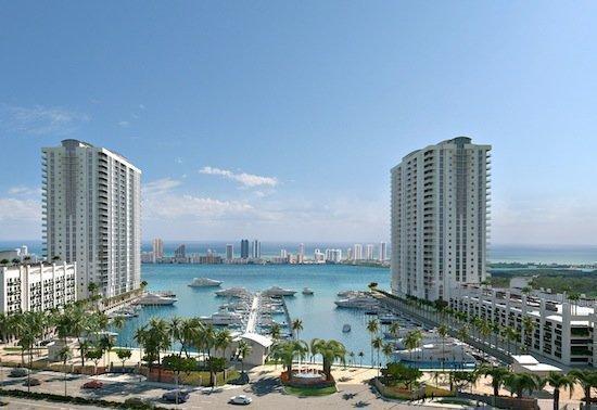 Marina Palms in North Miami Beach will feature a marina.