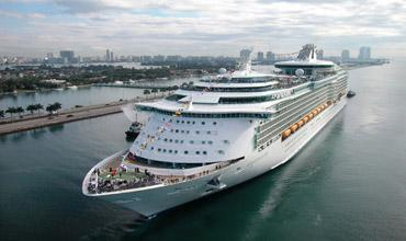 Royal Caribbean is the world's second-largest cruise line.