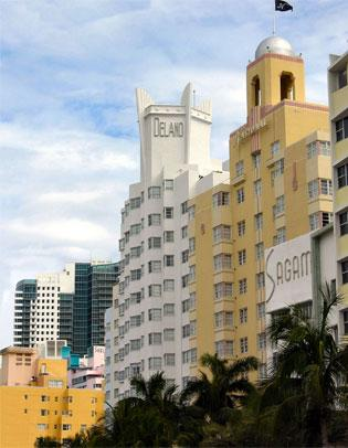 Morgans Hotel Group has placed its Delano Hotel in Miami Beach on the market.