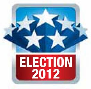Election 2012 graphic