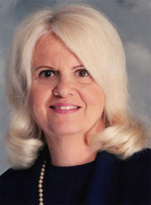 Lillian Lodge Kopenhaver, dean emeritus of Florida International University's School of Journalism and Mass Communication