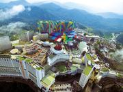 Genting Group already has experience building mega resorts, including Genting Highlands in Malaysia.