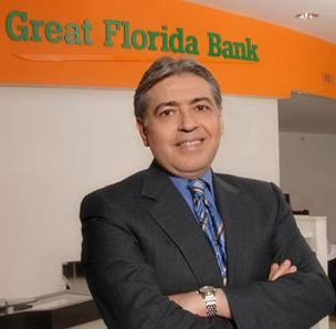 Great Florida Bank finished the first quarter with a Tier 1 leverage capital ratio of 4.2 percent and a total risk-based capital ratio of 8.46 percent, up from capital ratios of 4.09 percent and 8.38 percent on Dec. 31. Banking regulators told the bank in