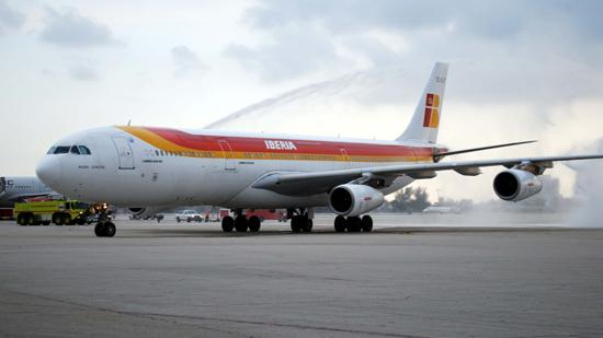 iberia launches miami barcelona flights south florida business journal iberia launches miami barcelona flights
