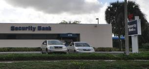 Security Bank North Lauderdale Florida loss risk capital