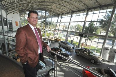 Bruce Qvale, at the Coral Springs location, plans another Audi dealership in Fort Lauderdale.
