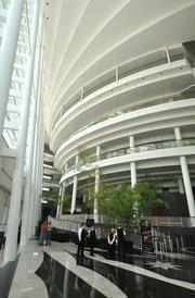 Architect Cesar Pelli's vision is behind the Arsht Center's design.