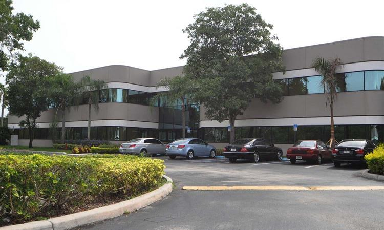 Sawgrass Executive Center in Sunrise could be seized in foreclosure.