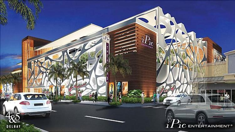 iPic theaters is coming to Delray Beach in 2015.