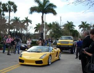 The DEA shows some cars seized after Vincent Colangelo's arrest in February 2011.