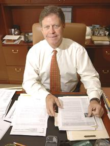 Rudy Schupp, CEO of 1st United Bank, helped engineer the acquisition of Anderen Bank.