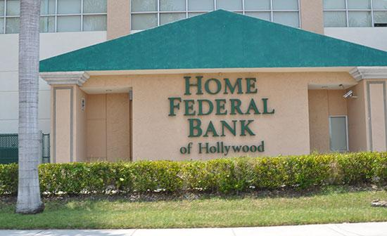 "Home Federal Bank of Hollywood was ""adequately capitalized,"" but it's hoping to raise $8 million from existing shareholders."