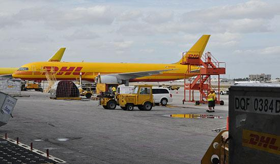 Cincinnati becomes one of only three international hubs for DHL.