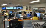 The DHL Express Miami Hub control center.