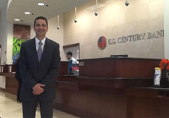 U.S. Century Bank said the complaint by its former chief lending officer against the bank and President and CEO Carlos Davila has no merit.