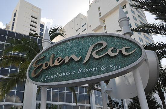 Eden Roc is one of Miami Beach's most iconic hotels.