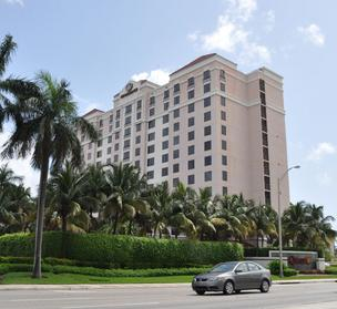 The    Renaissance Fort Lauderdale Cruise Port Hotel has been targeted for foreclosure, although its revenue was up in 2011.