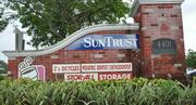 The SunTrust Bank facility next to the retail plaza in Davie is part of the foreclosure as well.