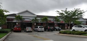 This retail plaza in Davie is facing foreclosure.