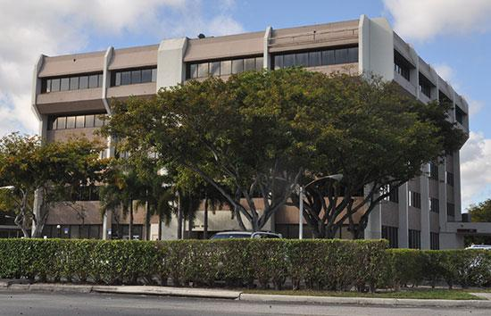 The owner of this office building on West Cypress Creek Road in in Fort Lauderdale lost a foreclosure judgment.