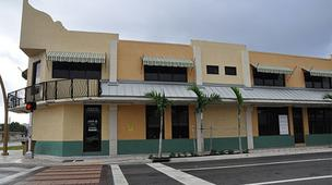 The                 22,825-square-foot retail/office plaza at 900 through 930 N.W. Sixth Street (Sistrunk Boulevard) in Fort Lauderdale is targeted in foreclosure.